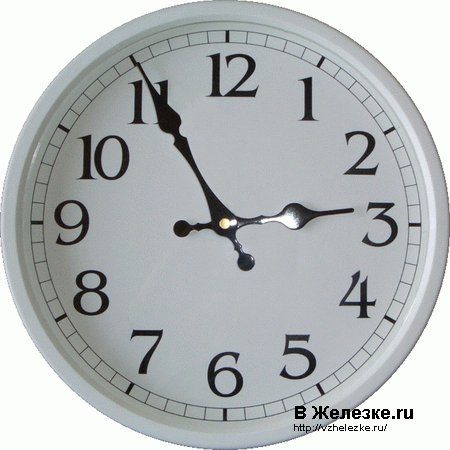 Завтра спим на час дольше, не забудьте перевести часы