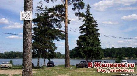 Субботник по очистке территории озера Бисерово