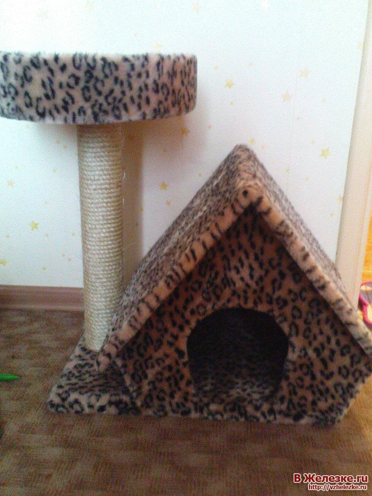 Как сделать двухэтажный домик для кошки своими руками