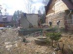 Снос (демонтаж) дома, ветхих построек. Расчистка участка. Покос травы, бурьяна.