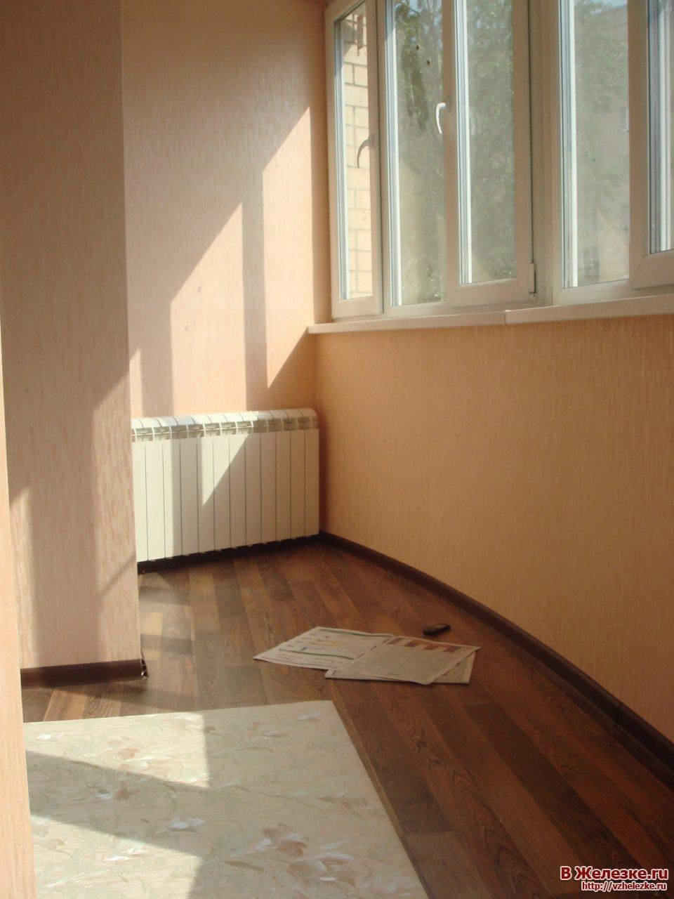 """Балкон под ключ """" город железнодорожный (балашиха) - сайт в ."""