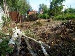 Расчистка участка, спил деревьев, снос дома, фундамента, земляные работы